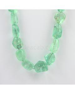 14 to 22 mm - 1 Line - Emerlad Tumbled Beads - 721.50 carats (EmTub1096)