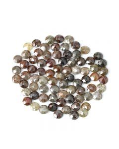 77 Pieces - Fancy Color Diamond Rose Cut - 27.71 ct. - 4.30 to 4.50 mm (DRC1358)