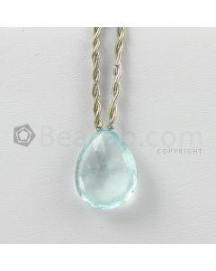 21 mm - Light Blue Aquamarine Drops - 13.85 carats (AqDr1046)