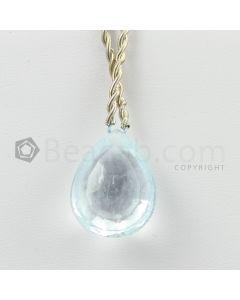 21 mm - Light Blue Aquamarine Drops - 27.65 carats (AqDr1047)