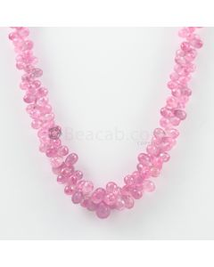 5.50 to 11 mm - 1 Line - Pink Sapphire Drops - 246.30 carats (PSDr1007)