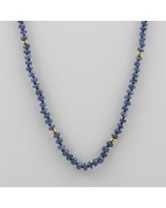 Sapphire Faceted - 1 Line - 47.50 carats - 18 inches - (CSNKL1017)
