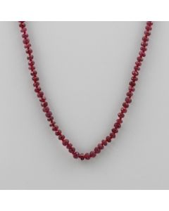 Ruby Roundel - 1 Line - 59.00 carats - 17 inches - (CSNKL1024)