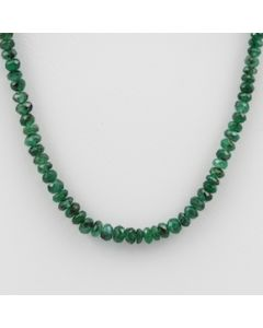 Emerald Faceted - 1 Line - 43.00 carats - 16 inches - (EmFB1015)
