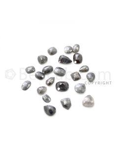 22 Medium Tones Diamond Mix Shape Rose Cut Diamonds - 27.00 cts. (DRC1244)