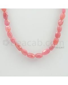 7.00 to 11.00 mm - 1 Line - Pink Sapphire Faceted Tumbled Beads - 15 inches (PnSFTuB1009)