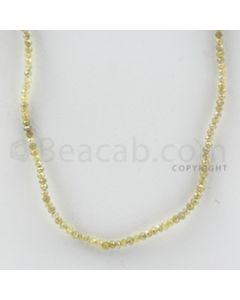 1.50 to 2.50 mm - 1 Line - Fancy Diamond Faceted Beads - 15 inches (FncyDia1028)