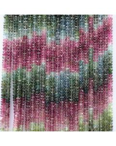 4..20 to 4.50 mm - 23 Lines - Tourmaline Faceted Beads - 16 inches (MuToFB1013)