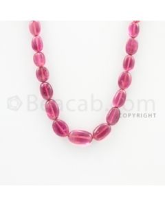 7.40 to 14.50 mm - 1 Line - Tourmaline Tumbled Beads - 16 inches (ToTuB1027)