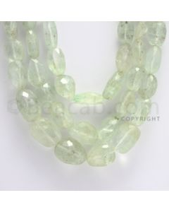 7.50 to 20.00 mm - 3 Lines - Emerald Tumbled Beads - 18 to 21 inches (EmFTuB1003)