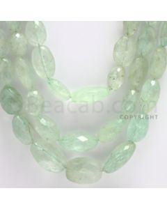 8.00 to 17.00 mm - 3 Lines - Emerald Tumbled Beads - 22 to 24 inches (EmFTuB1004)