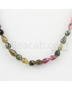 5.50 to 6.00 mm - 1 Line - Tourmaline Drops - 15 inches (MuToFD1001)