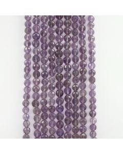 7.50 to 8 mm - 9 Lines - Amtheyst Gemstone Faceted Beads - 1463.00 carats (AmFB1003)