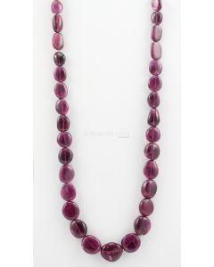 13.5 to 20 mm - 1 Line - Tourmaline Gemstone Tumbled Beads - 642.80 carats (ToTub1036)