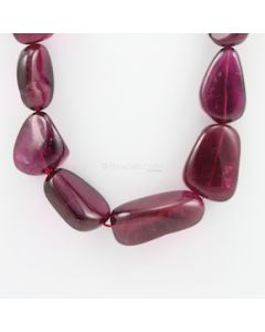18.50 to 40 mm - 1 Line - Tourmaline Gemstone Tumbled Beads - 1447.00 carats (ToTub1039)
