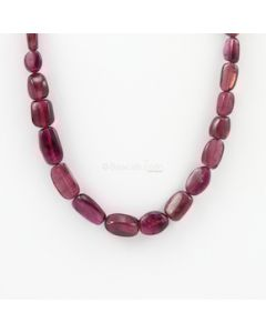 7.50 to 15 mm - 1 Line - Tourmaline Gemstone Tumbled Beads - 139.00 carats (ToTub1046)