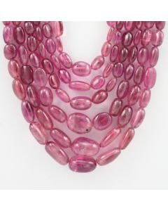 4 to 7.50 mm - 6 Lines - Tourmaline Gemstone Tumbled Beads - 791.00 carats (ToTub1050)