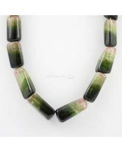 21.50 to 34 mm - 1 Line - Watermelon Tourmaline Gemstone Tumbled Beads - 941.15 carats (ToTub1072)