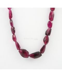 9 to 23 mm - 1 Line - Tourmaline Gemstone Faceted Tumbled Beads - 307.70 carats (ToFTuB1001)
