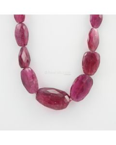 13 to 40 mm - 1 Line - Tourmaline Gemstone Faceted Tumbled Beads - 415.00 carats (ToFTuB1005)