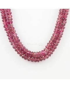 5.50 to 7.50 mm - 2 Lines - Tourmaline Gemstone Faceted Beads - 305.12 carats (ToFB1008)