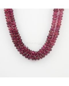 8.20 to 11 mm - 2 Lines - Tourmaline Gemstone Faceted Beads - 538.00 carats (ToFB1012)