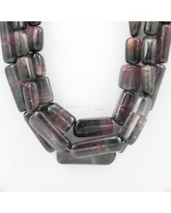 10.50 to 35 mm - 3 Lines - Watermelon Tourmaline Gemstone Tumbled Beads - 1423.00 carats (ToTuB1073)