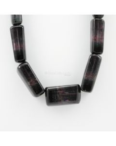 20 to 45 mm - 1 Line - Watermelon Tourmaline Gemstone Faceted Tumbled Beads - 1112.00 carats (ToFB1015)