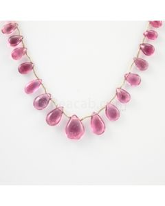 5 to 12 mm - Medium Pink Tourmaline Drop - 28.00 carats (ToDr1075)