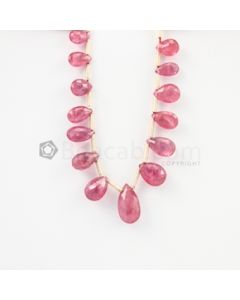 6 to 10 mm - Medium Pink Tourmaline Drop - 15.18 carats (ToDr1079)