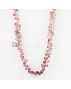 4.50 mm - Light Pink Tourmaline Faceted Drop - 25.00 carats (ToDr1089)