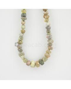 4 to 5.50 mm - Medium Tones Diamond Rough Beads - 93.00 carats (RoDia1009)