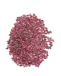 3.50 x 2.50 mm to 6 x 3 mm - Medium Red Ruby Leaf Shape Carving - 500 piece - 70.52 carats (RCar1027)