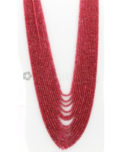 2.50 to 9.00 mm - Medium Purple-Red Spinel Faceted Beads - 13 Lines - 900.75 carats - SPNFB1013