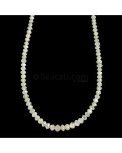 1 Line - Light Fancy Diamond Faceted Beads - 21.46 cts. - 2 to 4 mm (FNCYDIA1065)