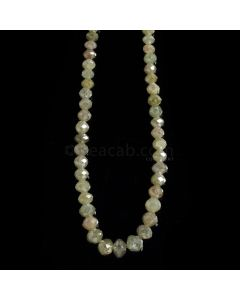 1 Line - Medium Fancy Diamond Faceted Beads - 54.14 cts. - 3 to 5.7 mm (FNCYDIA1076)