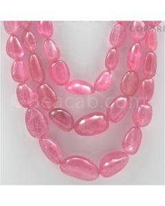 Tourmaline Tumbled Beads - 3 Lines - 1260.00 carats (Tour1001)