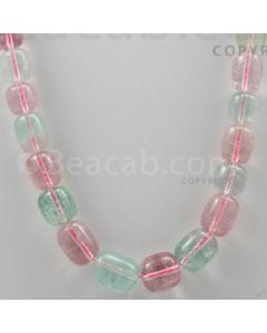 Tourmaline Drums Beads - 1 Line - 401.00 carats (Tour1004)