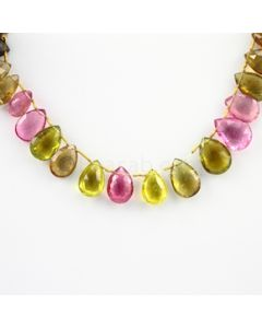 12.50 to 16.50 mm - 1 Line - Tourmaline Drops - 120.65 carats (ToDr1009)