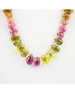11 to 14.50 mm - 1 Line - Tourmaline Drops - 97.50 carats (ToDr1010)
