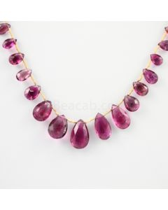 7 to 17 mm - 1 Line - Tourmaline Drops - 67.80 carats (ToDr1015)