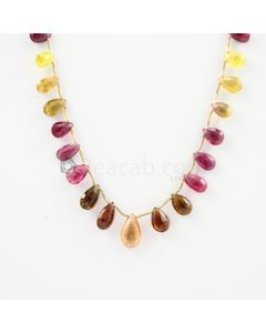 9 to 14.70 mm - 1 Line - Tourmaline Drops - 65.00 carats (ToDr1020)