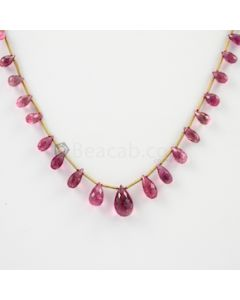 7 to 14.50 mm - 1 Line - Tourmaline Drops - 65.00 carats (ToDr1024)