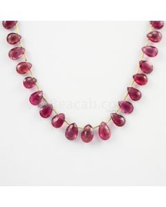 9 to 12.40 mm - 1 Line - Tourmaline Drops - 70.00 carats (ToDr1025)