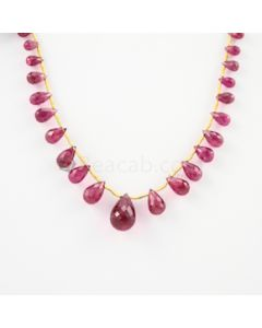 5.70 to 14.50 mm - 1 Line - Tourmaline Drops - 41.00 carats (ToDr1026)