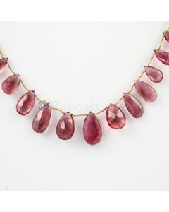 7 to 18.50 mm - 1 Line - Tourmaline Drops - 85.00 carats (ToDr1027)