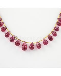 8 to 12.50 mm - 1 Line - Tourmaline Drops - 50.95 carats (ToDr1042)