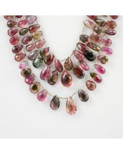 9 to 16.50 mm - 3 Lines - Tourmaline Drops - 239.25 carats (ToDr1056)