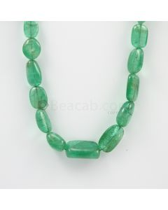 9 to 21 mm - 1 Line - Emerlad Tumbled Beads - 232.50 carats (EmTub1094)