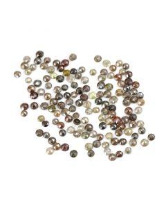 141 Pieces - Fancy Color Diamond Rose Cut - 12.70 ct. - 2.40 to 2.70 mm (DRC1349)